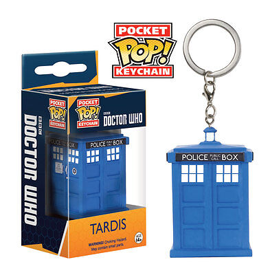 Funko Pocket POP! Vinyl Keychain DOCTOR WHO TARDIS 4cm NEU+OVP  Dr.