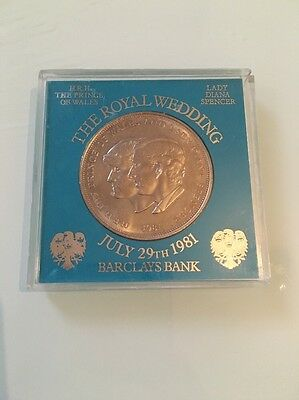 1981 coin to commemorate Charles and Diane's Royal wedding