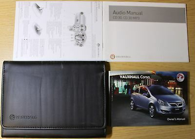 Vauxhall Corsa D Owners Manual Handbook Wallet 2006-2011