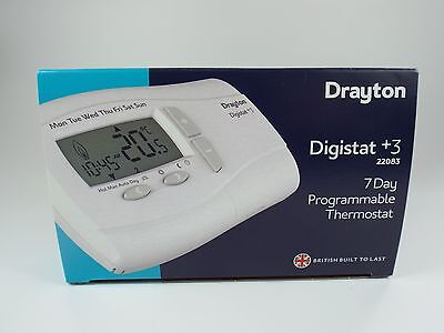Drayton Digistat + 3 22083 7 Day Programmable Thermostat