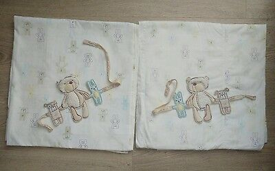Luxury Decorative Window Curtains For Baby Room 100% Cotton