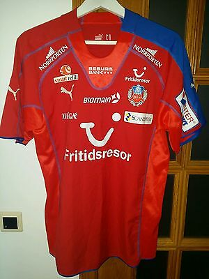 Helsingborgs If (Sweden) Official Match Issued Home Shirt #17