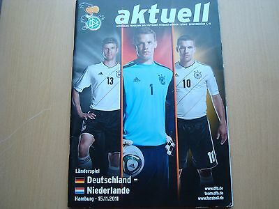 Germany V Nederlands Nov 2011