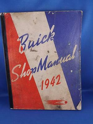 Buick Shop Manual 1942 Car Truck Repair Maintenance General Motors