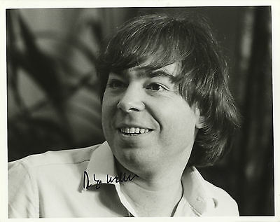 Andrew Lloyd Webber - English Composer and Impresario - In Person B & W Photo.