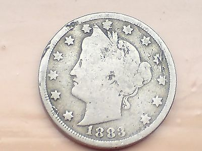 usa 1883 nickel with small die flaw