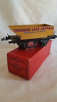 Hornby 0 Gauge 42220 No1 Rotary Tipping Wagon Trinidad Lake Very Good Boxed