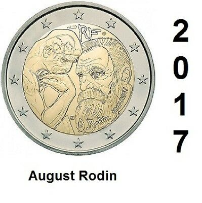 2 Euro - France 2017 - August Rodin