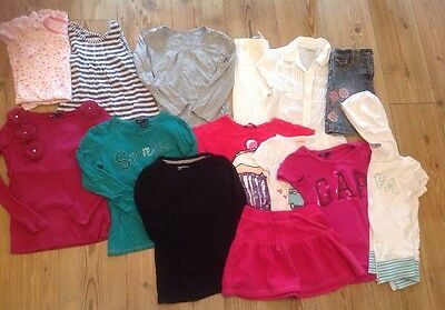 Large Girls Clothes Bundle, 6-7yrs, Lots of GAP, 14 Items
