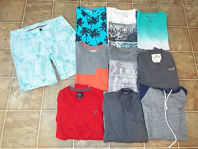 Mens size Medium size 32 Mixed lot Aeropostale American Eagle Outfitters Hollis