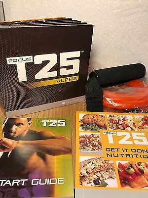 T25 - Beachbody 9 DVD's and resistance band