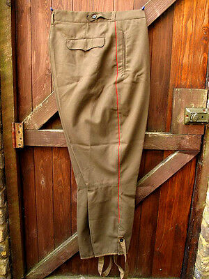 Original Soviet USSR Army Officer Field Uniform Bootleg Type Trousers Size M