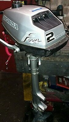 Honda 2 hp 4 stroke longshaft outboard motor, serviced,6 mth warranty fishing