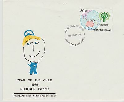 Norfolk Island Year of the Child 1979 First Day Cover