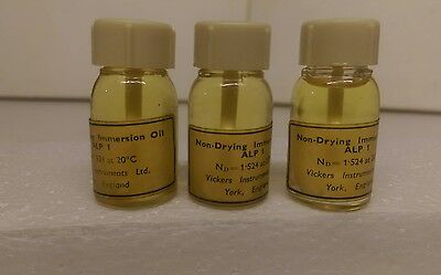 Immersion Oil For Microscopes 3 Pack
