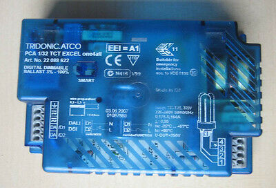 Dali-EVG Tridonic PCA 1/32 TCT Excel one4all 22088622 electronic ballast DSI