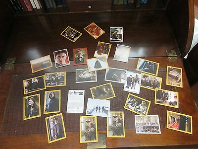 Harry Potter and the Half Blood Prince panini stickers