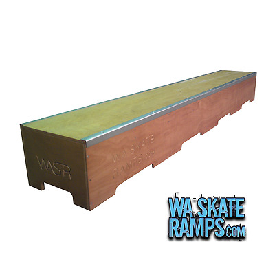 Skate Ledge 8Ft Long