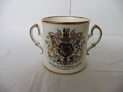 Royal Stafford Prince Of Wales, Lady Diana Spencer Wedding Loving Cup