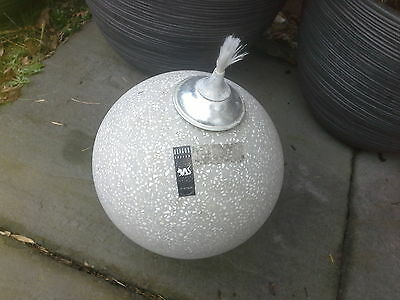 garden ball lighting - collection from shrewsbury - cash on collection