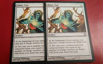 Mtg Aether Vial x 2 PROXY