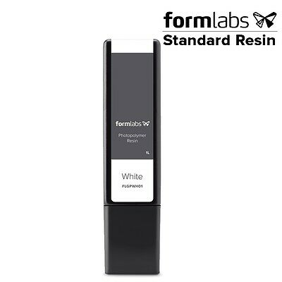 3pcs - Formlabs Form2 White Resin (1L) FLGBWH01 (Cartridge Form) ships worldwide
