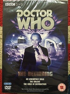 Doctor Who The Beginning 3 Disc Box Set Brand New