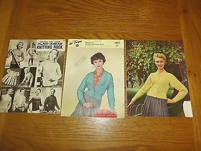 Antique Knitting Patterns Woman & Home /sirdar/ Lee Target Vintage Collectors
