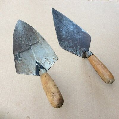 Bricklayers Trowels x 2