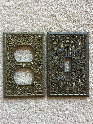 Vintage EDMAR Electrical Cover Light Switch Plate Cover
