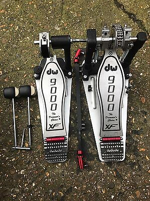 Dw9000 Double Bass Drum Pedal XL Version Long Boards