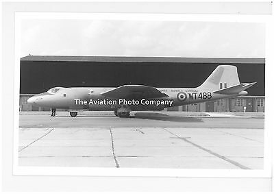 RAF English Electric Canberra WT488 Vintage Photograph