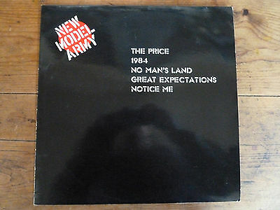 New Model Army 12in Single The Price, 1984, No Mans Land, Great Expectations, No