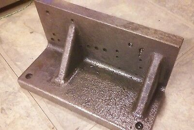 "Angle Block 8"" x 3 1/2"" x4"" Nice Condition for Milling and Machine Setup"