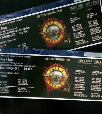 1 guns n' roses golden circle imola