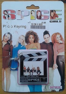 Spice Girls Photo Keyring chair version original packaging official merchandise