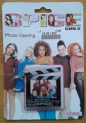 Spice Girls Photo Keyring floor version original packaging official merchandise
