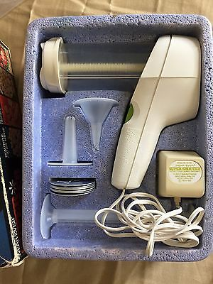 WearEver Super Shooter Electric Cookie Press Canape Candy Maker Complete Set