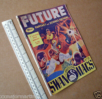 Future Fantasy & SF Mag #11 from Gerald Swan Ltd London. Late 1940s Period Pulp