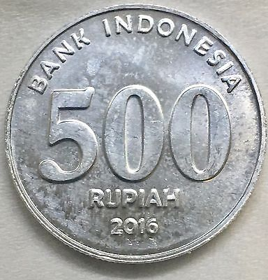 2016 NEW EDITION Indonesia  500 Rupiah Coin