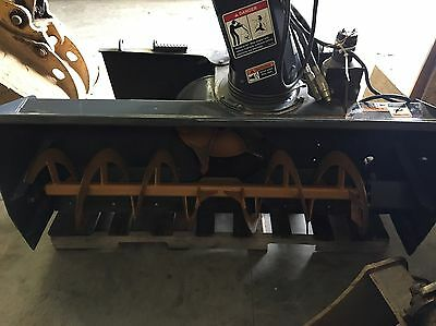 "60"" FFC Skid Steer Snowblower Low Flow"