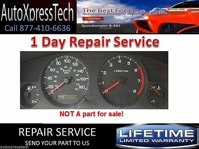 1997to 2001 NISSAN PathFinder INSTRUMENT CLUSTER REPAIR SERVICE Speedometer BEST