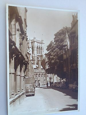 Old Postcard of St. Johns College Cambridge 1950s (Photo Style)
