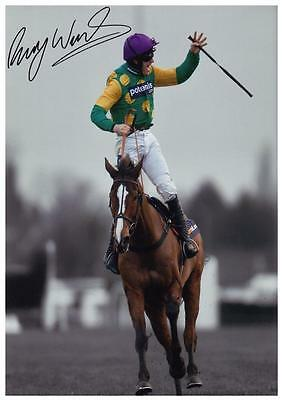 76 #  Ruby Walsh  Signed  A4 Photograph Reprint~~~~~~~~~~~