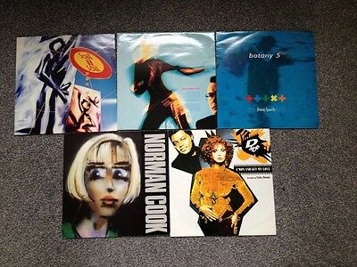 "Lot of 5 Dance/House/Electronic 12""Vinyls"