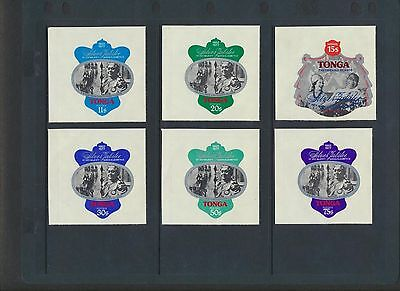 Tonga 1977 QEII Silver Jubilee set of 13 NH