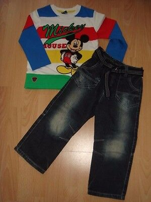 GEORGE Lovely Set Trousers and Top MICKEY MOUSE size 3-4 years