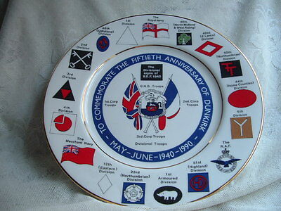 50Th Anniversary Of Dunkirk Plate