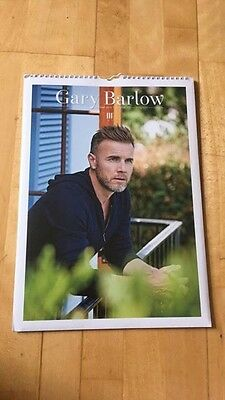 New & Sealed Gary Barlow Take That Calendar 2017