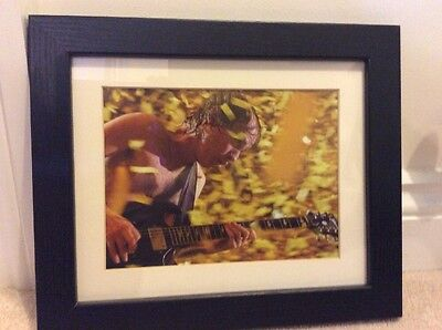 angus young Framed Photo